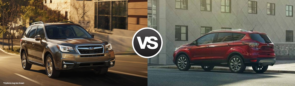 2018 Subaru Forester vs Ford Escape