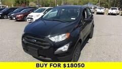 New 2020 Ford EcoSport S SUV for sale in Brattleboro
