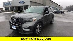 New 2020 Ford Explorer ST SUV for sale near Greenfield MA