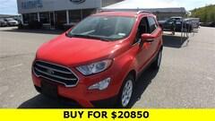 New 2020 Ford EcoSport SE SUV for sale in Brattleboro