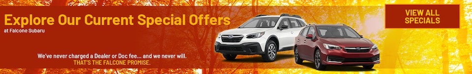 Explore Our Current Special Offers - Sept