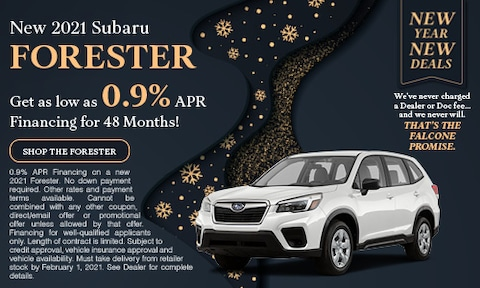New 2021 Subaru Forester - Jan