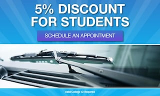 5% discount for students