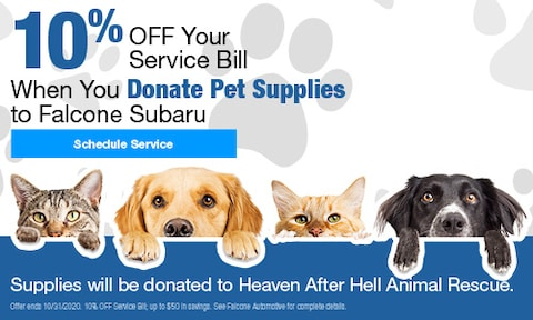 10% OFF Your Service Bill