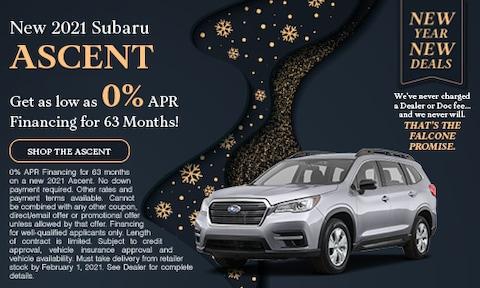 New 2021 Subaru Ascent - Jan