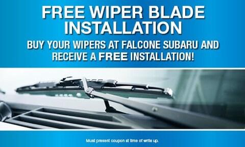 Free Wiper Blade Install