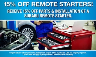 Remote Starters discount