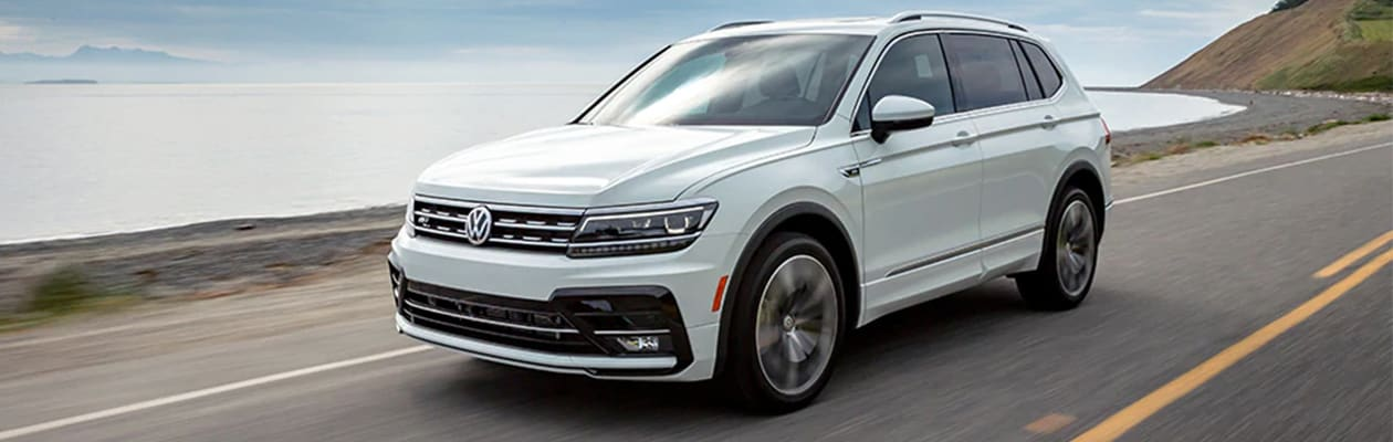 2020 VW Tiguan Cargo Space