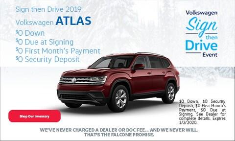 New 2019 Volkswagen Atlas - December