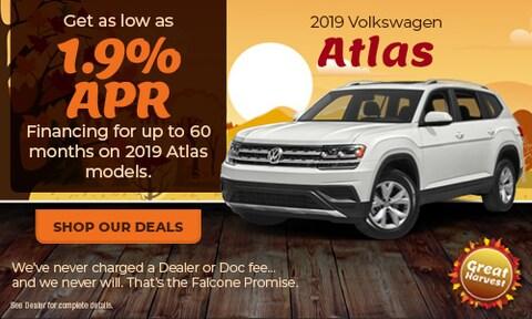 New 2019 Volkswagen Atlas - Oct '19