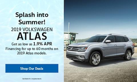 New 2019 Volkswagen Atlas - Aug '19
