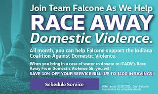Race Away Domestic Violence - May