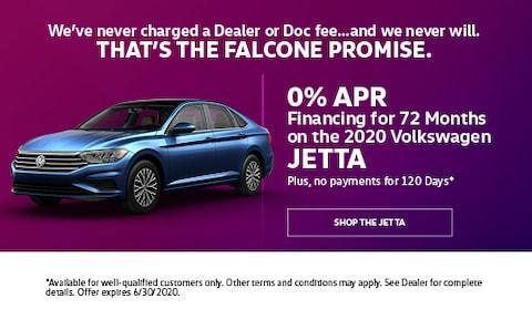 0% APR Financing for 72 Months on the 2020 Volkswagen Jetta - June