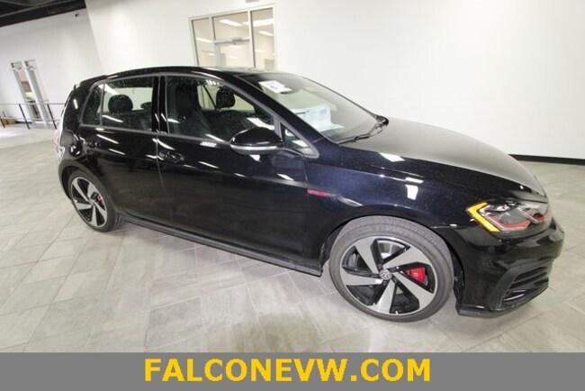 New 2019 Volkswagen Golf GTI 2.0T SE Hatchback in Indianapolis