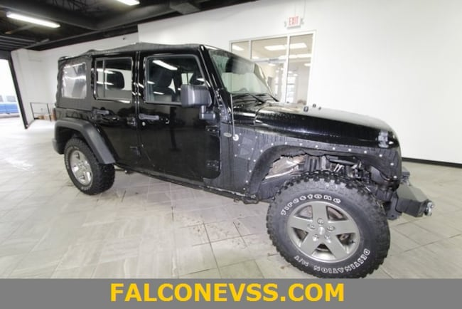 Used 2013 Jeep Wrangler Unlimited Sport SUV in Indianapolis