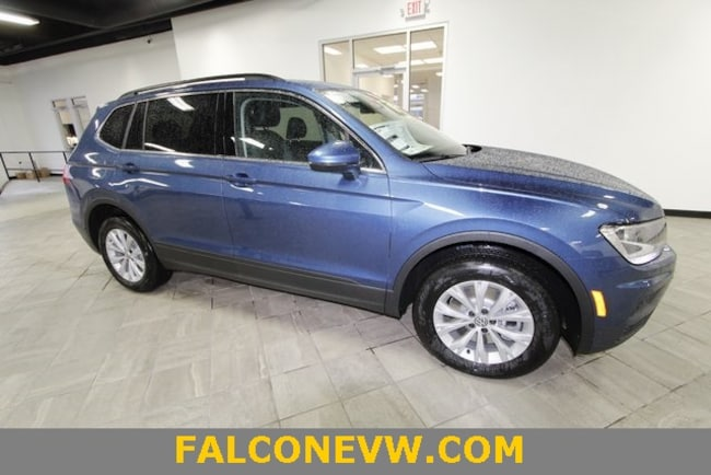 New 2019 Volkswagen Tiguan 2.0T SE 4MOTION SUV in Indianapolis