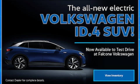 The all-new electric Volkswagen ID.4 SUV!