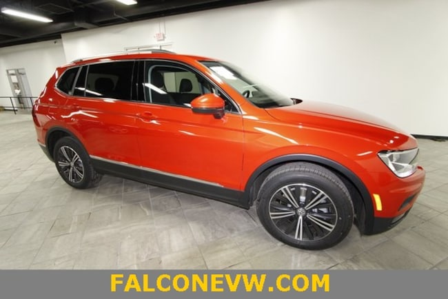 New 2019 Volkswagen Tiguan 2.0T SEL 4MOTION SUV in Indianapolis