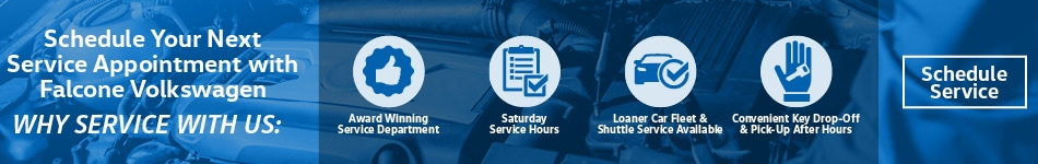 Why Service With Falcone VW - May