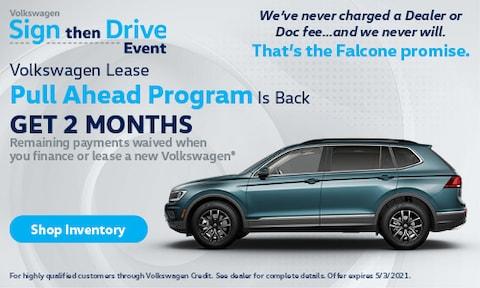 Volkswagen Lease Pull Ahead Program Is Back