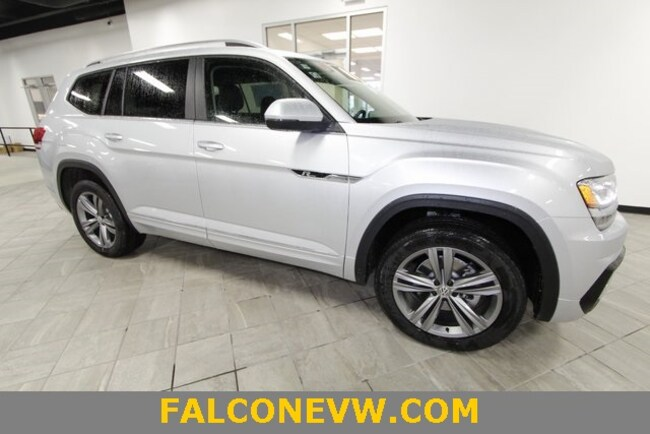 New 2019 Volkswagen Atlas 3.6L V6 SE w/Technology R-Line 4MOTION SUV in Indianapolis