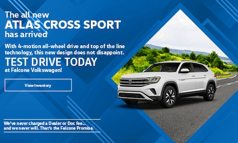 The all new Atlas Cross Sport has arrived - March