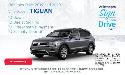 New 2019/2020 Volkswagen Tiguan - December