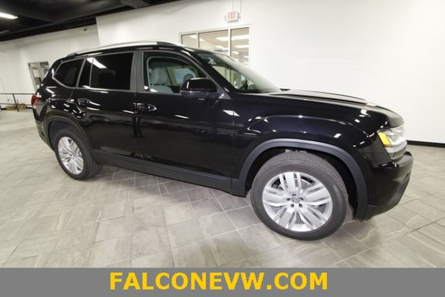 New 2019 Volkswagen Atlas 3.6L V6 SE w/Technology 4MOTION SUV in Indianapolis
