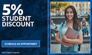 5% Student Discount