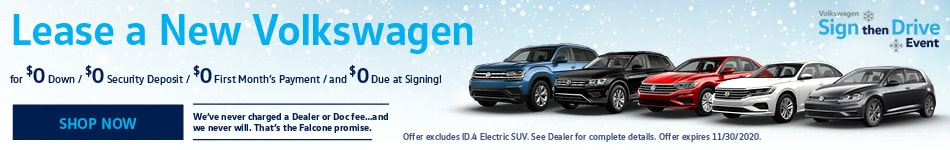 Lease a New Volkswagen - Nov