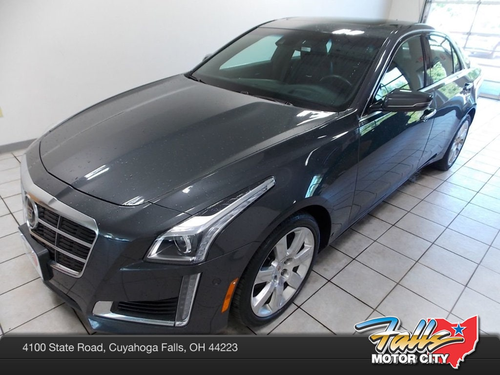 Used 2014 cadillac cts 2 0l turbo premium for sale cuyahoga falls oh