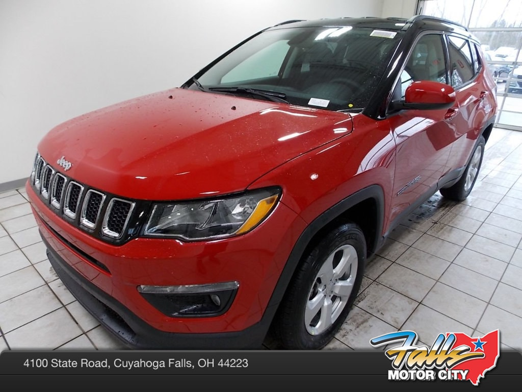 Featured New 2019 Jeep Compass LATITUDE 4X4 Sport Utility for sale in Cuyahoga Falls, OH