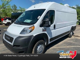 New 2019 Ram ProMaster 3500 CARGO VAN HIGH ROOF 159 WB EXT Extended Cargo Van 3C6URVJG3KE530030 for Sale in Cuyahoga Falls, OH