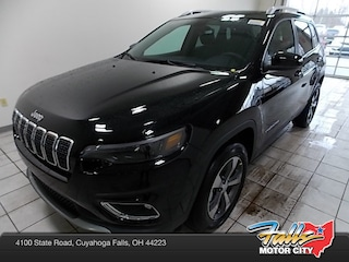 New 2019 Jeep Cherokee LIMITED 4X4 Sport Utility 1C4PJMDX3KD394180 for Sale in Cuyahoga Falls, OH