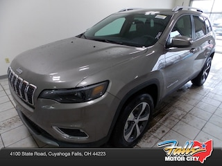 New 2019 Jeep Cherokee LIMITED 4X4 Sport Utility 1C4PJMDXXKD390143 for Sale in Cuyahoga Falls, OH