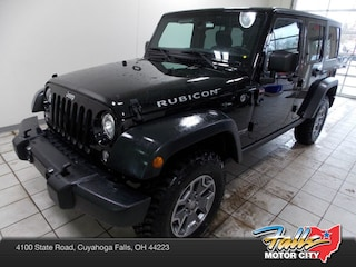 New 2018 Jeep Wrangler JK Unlimited WRANGLER JK UNLIMITED RUBICON 4X4 Sport Utility 1C4BJWFG8JL851007 for Sale in Cuyahoga Falls, OH