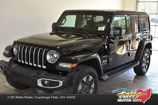 New 2018 Jeep Wrangler UNLIMITED SAHARA 4X4 Sport Utility 1C4HJXEN3JW236492 for Sale in Cuyahoga Falls, OH