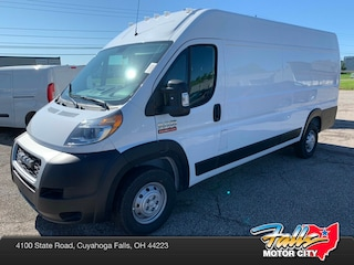 New 2019 Ram ProMaster 3500 CARGO VAN HIGH ROOF 159 WB EXT Extended Cargo Van 3C6URVJG2KE532559 for Sale in Cuyahoga Falls, OH