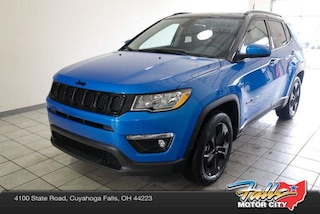 New 2018 Jeep Compass ALTITUDE FWD Sport Utility 3C4NJCBB9JT408410 for Sale in Cuyahoga Falls, OH