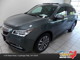 2016 Acura MDX MDX SH-AWD with Technology and AcuraWatch Plus Packages SUV 5FRYD4H41GB045514