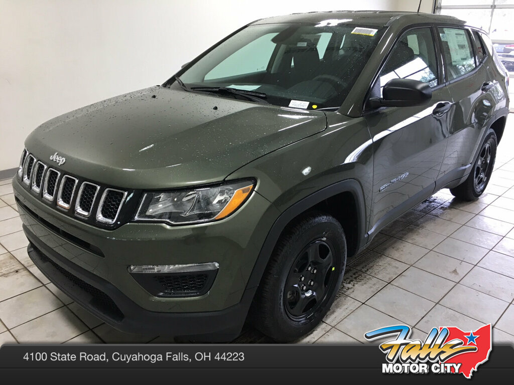 New 2019 Jeep Compass SPORT FWD Sport Utility for sale in Cuyahoga Falls, OH