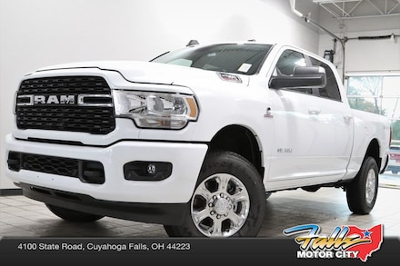 Featured New 2022 Ram 2500 BIG HORN CREW CAB 4X4 6'4 BOX Crew Cab for sale in Cuyahoga Falls, OH