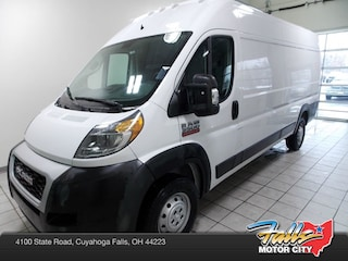New 2019 Ram ProMaster 3500 CARGO VAN HIGH ROOF 159 WB EXT Extended Cargo Van 3C6URVJG0KE500502 for Sale in Cuyahoga Falls, OH
