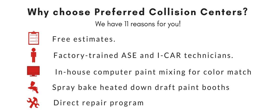 Preferred Chrysler Dodge Jeep Auto Body Muskegon Mi Collision Repair