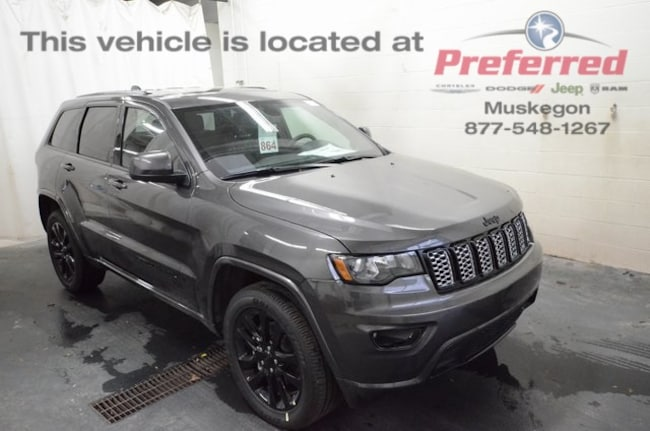 New 2019 Jeep Grand Cherokee ALTITUDE 4X4 Sport Utility in Muskegon, MI