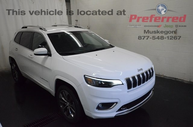 New 2019 Jeep Cherokee OVERLAND 4X4 Sport Utility For Sale in Muskegon