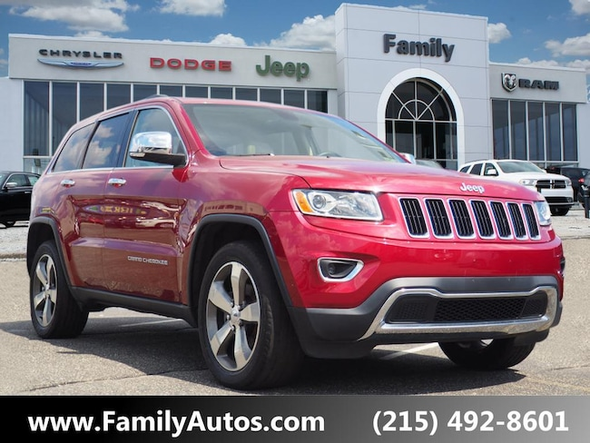 Used 2015 Jeep Grand Cherokee Limited 4x4 SUV for sale in Philadelphia, PA
