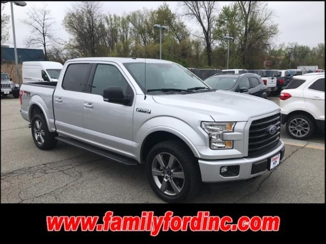 2017 Ford F-150 XLT Crew Cab Long Bed Truck