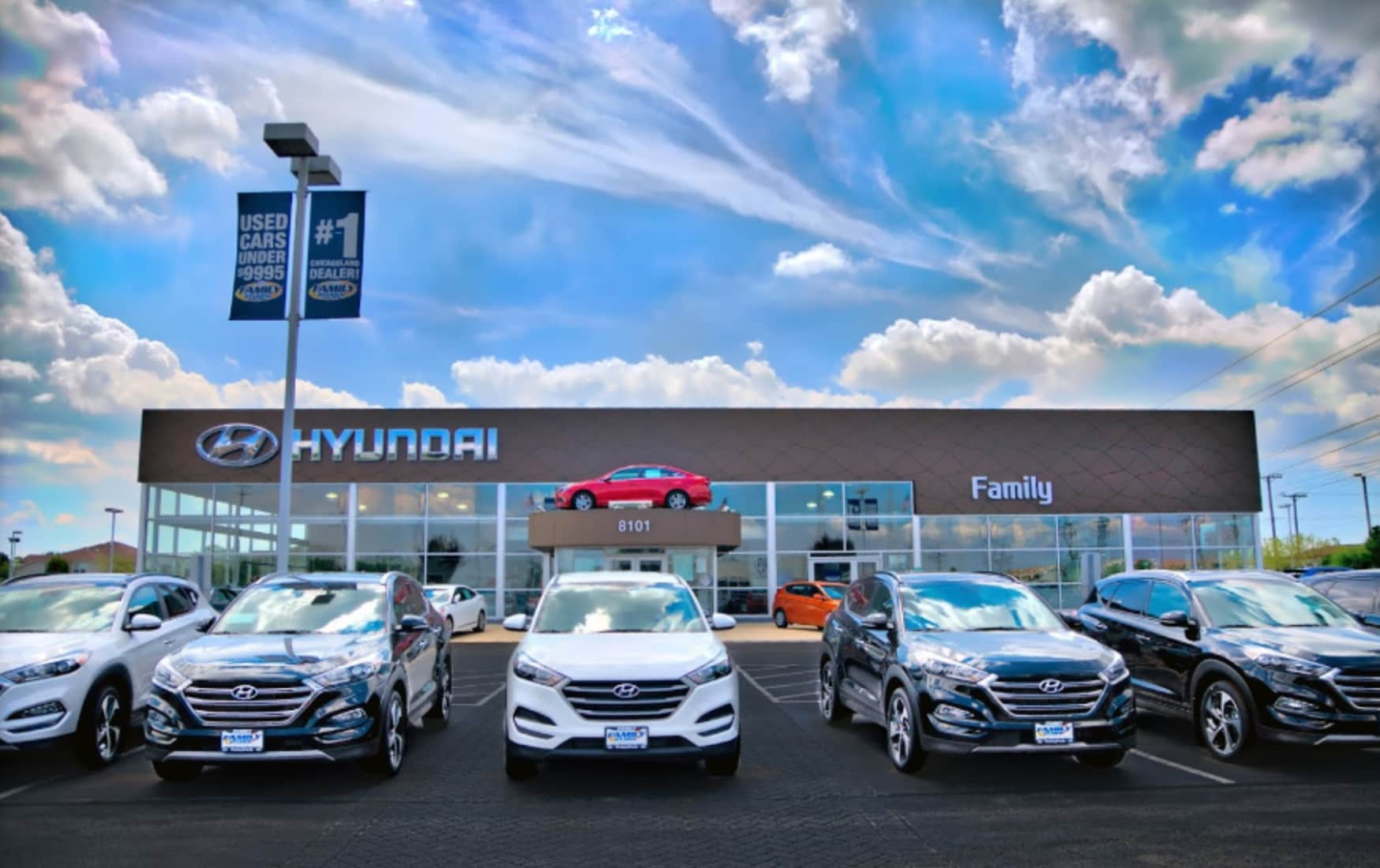 Family Hyundai | New Hyundai dealership in Tinley Park, IL 60477