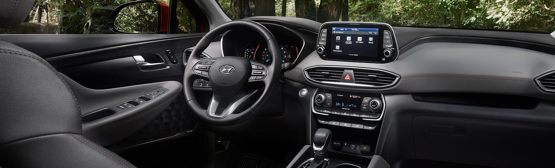 All-New 2019 Hyundai Santa Fe Interior
